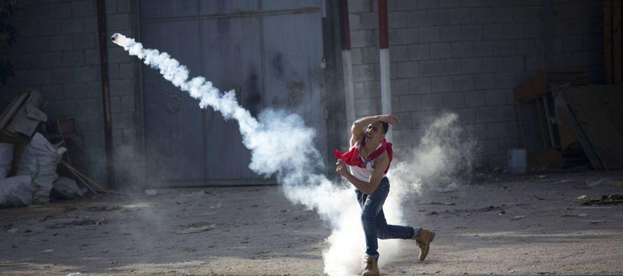 En las zonas israelíes en torno a la franja poco antes habían sonado las sirenas de...