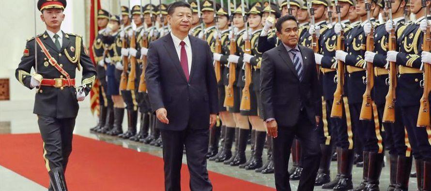 El presidente chino mencionó que China considera a las Maldivas como un importante socio en...