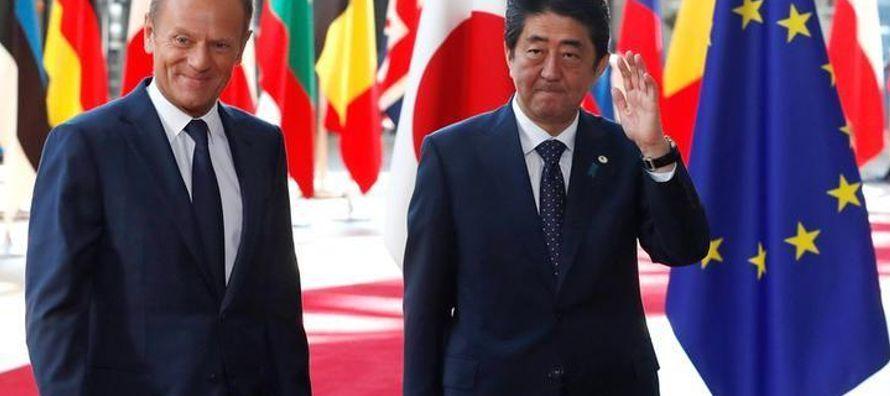 El acuerdo, que combina el bloque de 28 naciones y la tercera economía más grande del...