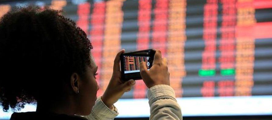 Este viernes, el mercado brasileño se animó con la tendencia al alza de Wall Street y...