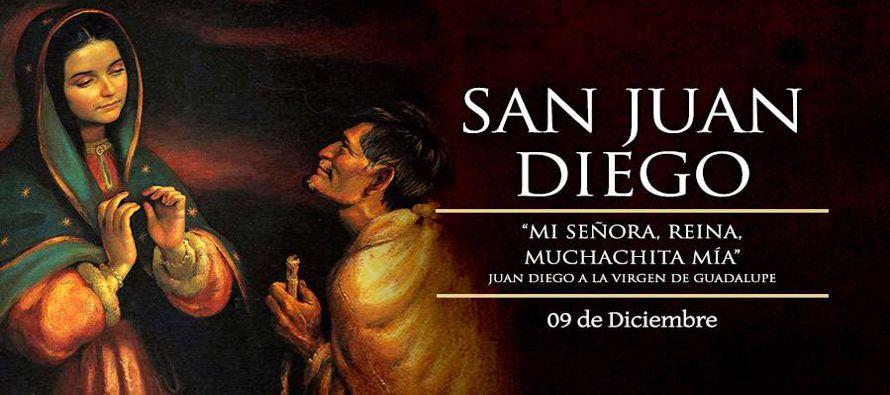 San Juan Diego Cuauhtlatoatzain, de la estirpe indígena nativa, varón provisto de una...