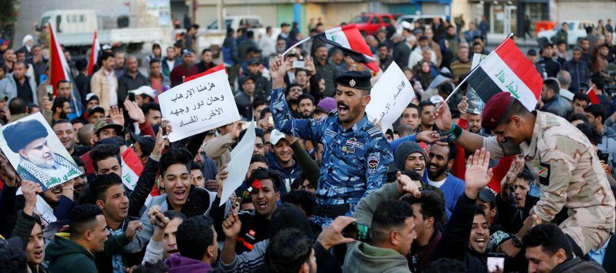 Conviene no dejarse llevar por el triunfalismo, de todas formas, porque Irak es un paso adelante en...