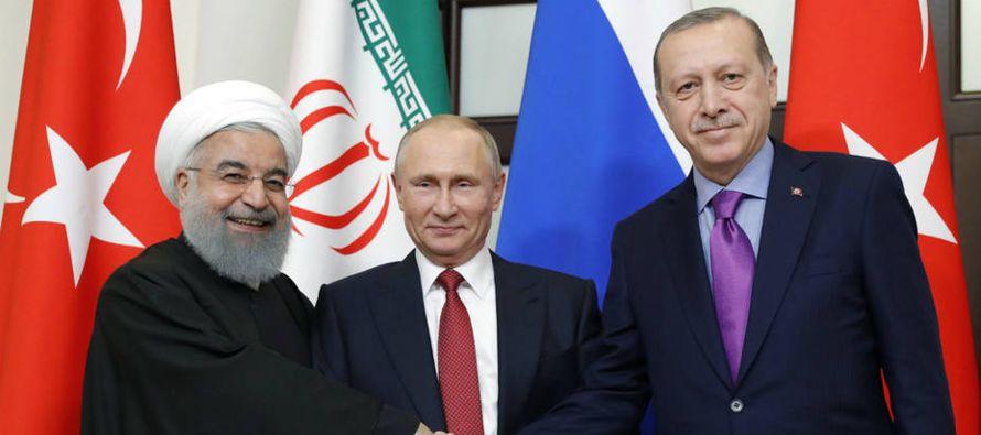 """""""Hemos hablado de Siria. Volveremos a encontrarnos en el tiempo más breve posible en..."""