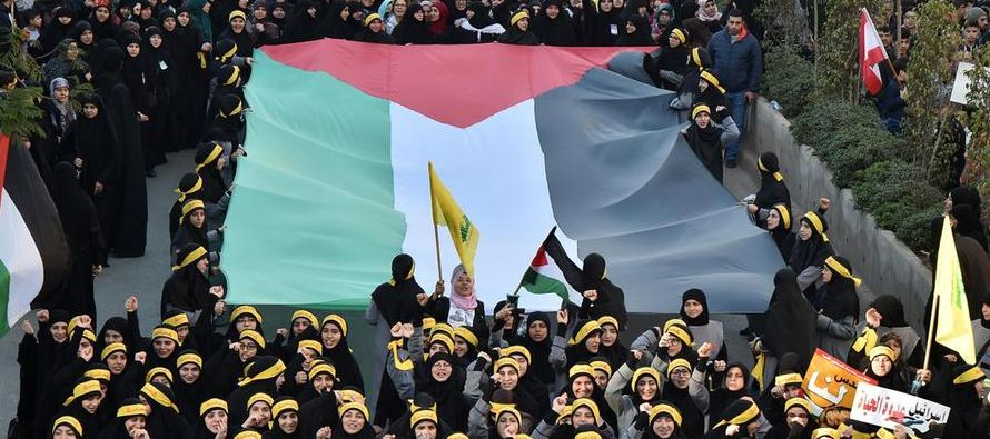 """""""Estamos orgullosos del gran pueblo de Palestina por su resistencia y sacrificio contra el..."""
