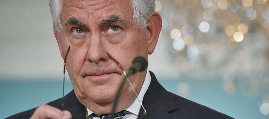 """El secretario de Estado reiteró que Washington ha dejado atrás """"la..."""