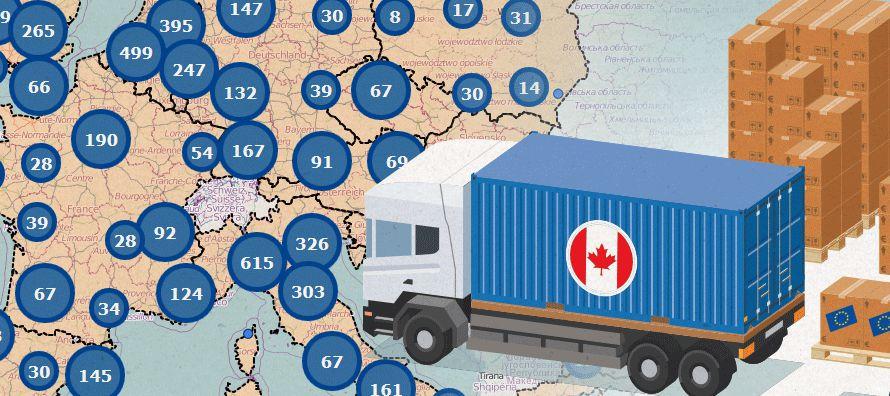 Aunque Ottawa y Bruselas consiguieron iniciar en 2017 la implementación del tratado...