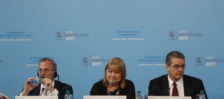 Los ministros reunidos en Buenos Aires estaban listos para cerrar su reunión bianual de la...