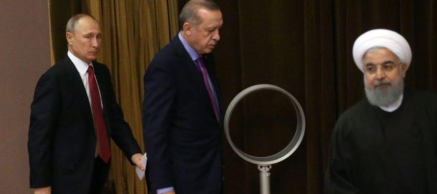 En todo momento, el despliegue militar ruso en Siria estuvo dirigido a limitar el margen de...