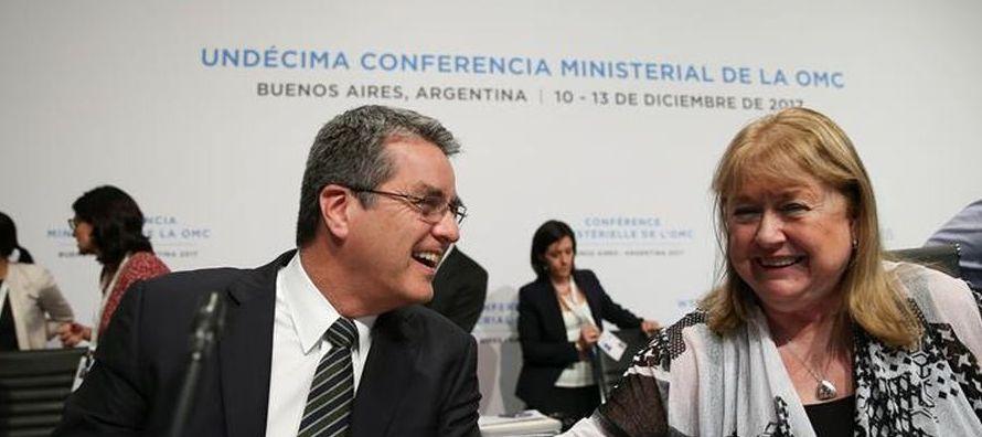 """""""No hemos estamos a la altura"""", admitió la argentina Susana Malcorra, gran..."""
