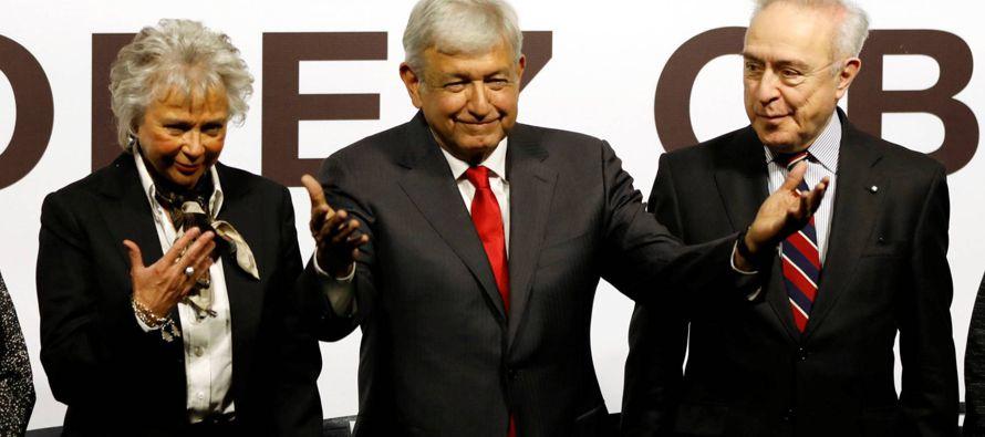 El dos veces candidato a la presidencia de México, Andrés Manuel López...