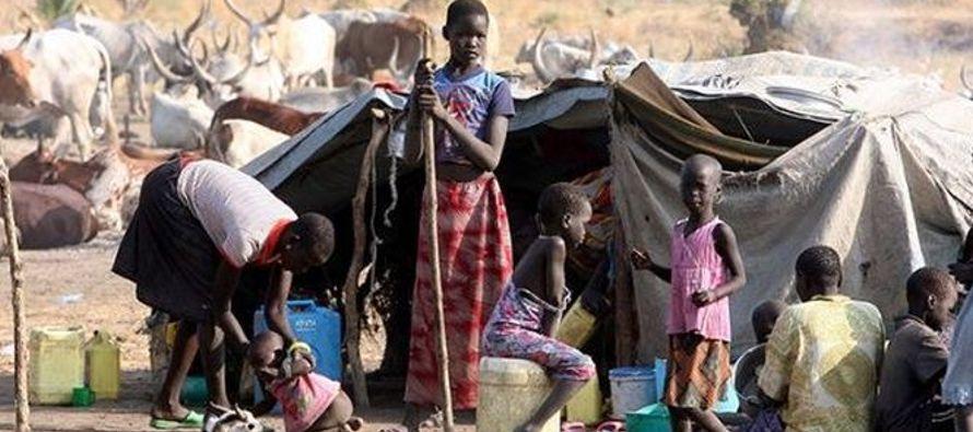 Sudán del Sur está sumido en una guerra civil que estalló en diciembre de 2013...
