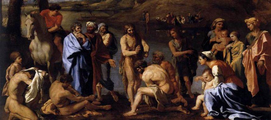 «Yo bautizo con agua, pero en medio de vosotros está uno a quien no conocéis,...