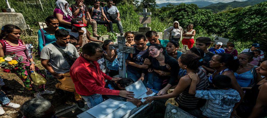 El hambre ha acechado a Venezuela durante años. Pero ahora, según médicos en...
