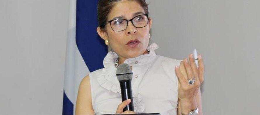 Hilda Hernández, de 51 años, ex ministra y asesora de la campaña electoral de...