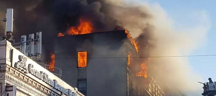 El jefe del cuerpo de bomberos de Nueva York, Daniel Nigro, declaró a los periodistas que el...