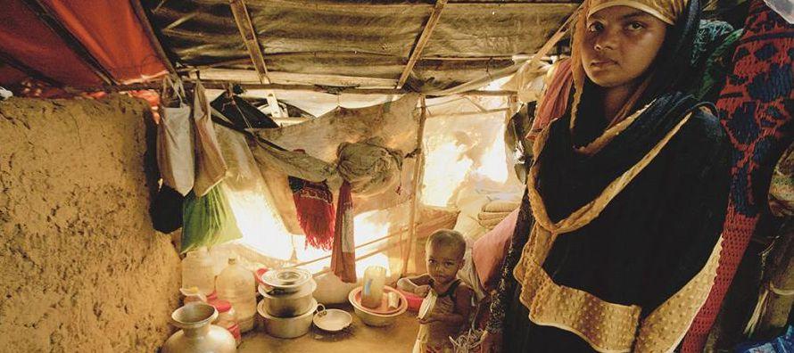 Y es que la crisis de los rohinyás también lleva el rostro de la desnutrición,...