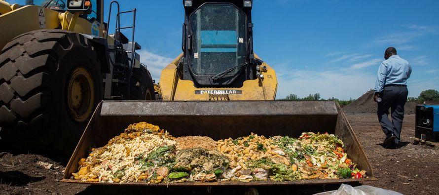 En el mundo se desperdician alrededor de 1300 millones de toneladas de comida al año: un...