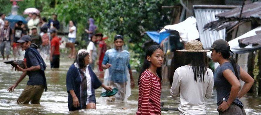 Las víctimas mortales corresponden a las provincias de Biliran (28), Leyte (5), Masbate (3),...