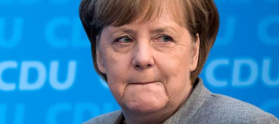La líder cristianodemócrata asumía así las principales críticas...