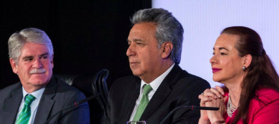 En lo político, el 2017 arrancó en el país andino con las elecciones...