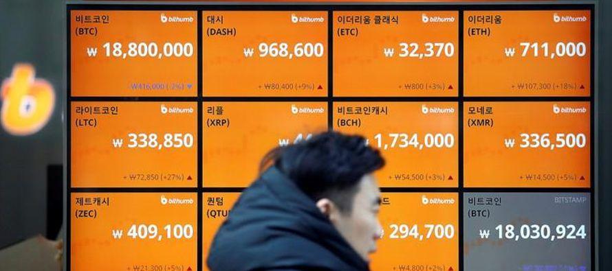 La escalada del bitcoin y de otras monedas digitales este año -y el incremento del mercado...