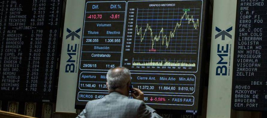 Las bolsas europeas retrocedieron el martes en un mercado más débil, ya que...