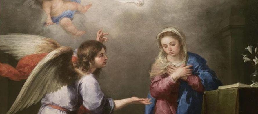 Al sexto mes fue enviado por Dios el ángel Gabriel a una ciudad de Galilea, llamada Nazaret,...