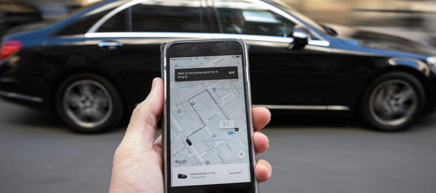 """El portavoz de Uber declaró a EFE que el fallo """"llega con un desfase de tres..."""