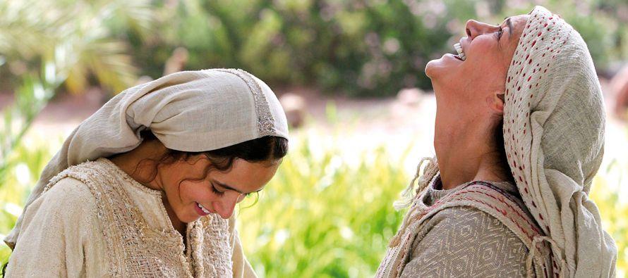 «Bendita tú entre las mujeres y bendito el fruto de tu seno; y ¿de dónde...