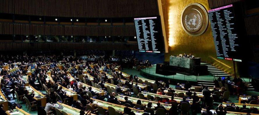 """""""Israel rechaza completamente esta ridícula resolución"""", dijo Netanyahu en..."""