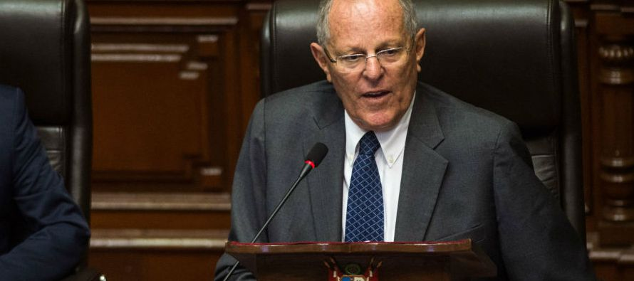 La legisladora oficialista y primera ministra de Perú, Mercedes Aráoz, destacó...