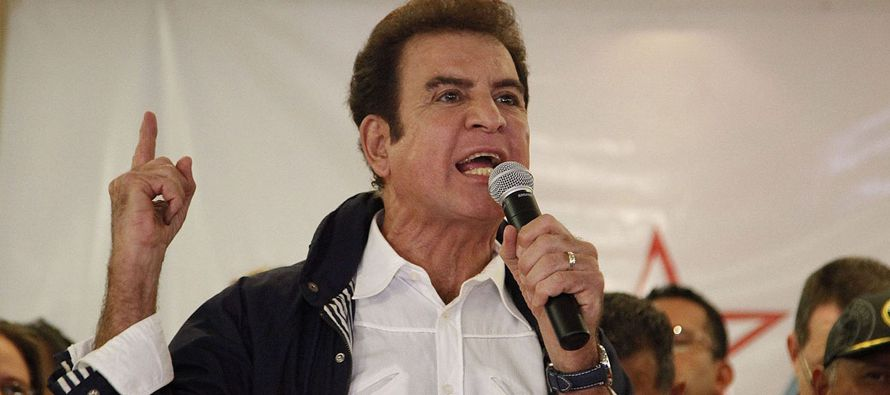 """""""Me interesa que quede un precedente de que el Gobierno de Honduras no fue electo por la..."""