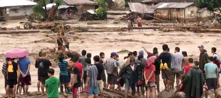 Las víctimas se concentran en las provincias de Lanao del Norte, Zamboanga del Norte y Lanao...