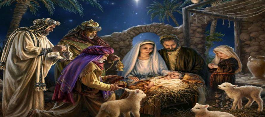 Mientras se encontraban en Belén, le llegó el tiempo de ser madre; y María dio...