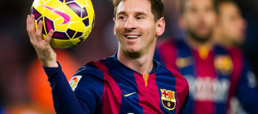 Messi repite como máximo goleador de un año natural y lo certificó con una...