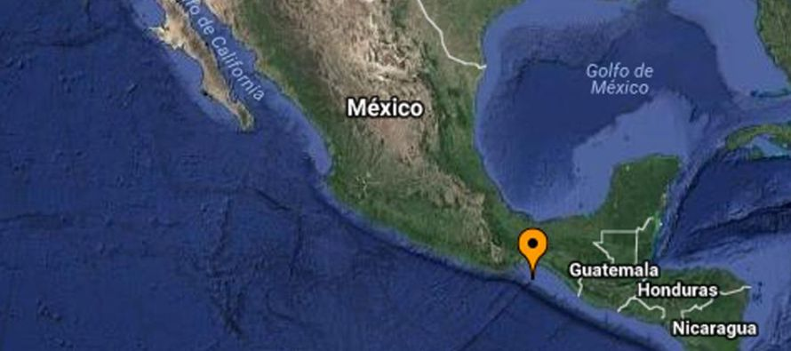 Según informó el Servicio Sismológico Nacional (SSN), el sismo se...