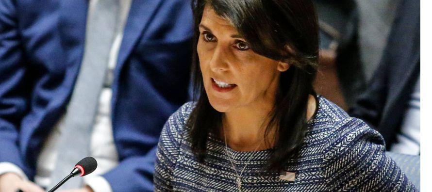 El enfriamiento entre Estados Unidos y los países socios de Naciones Unidas se mostró...
