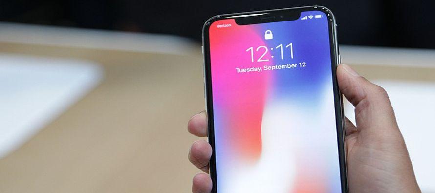 Apple bajará sus pronósticos de venta para el iPhone X en el trimestre a 30 millones...