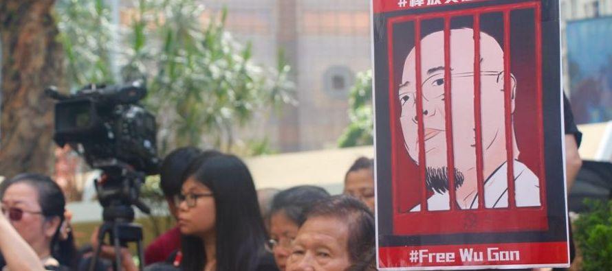 """""""Es una vergüenza que las autoridades chinas hayan elegido el día posterior al de..."""