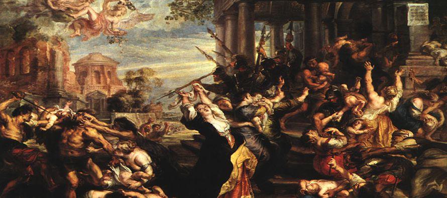 Herodes, al ver que había sido burlado por los magos, se enfureció terriblemente y...