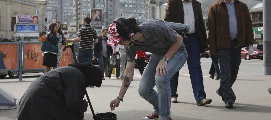 El mayor problema para muchas familias rusas es la pérdida de poder adquisitivo debido a la...