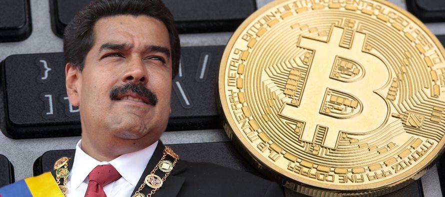 El gobierno socialista ha propuesto una criptomoneda respaldada con reservas de petróleo...