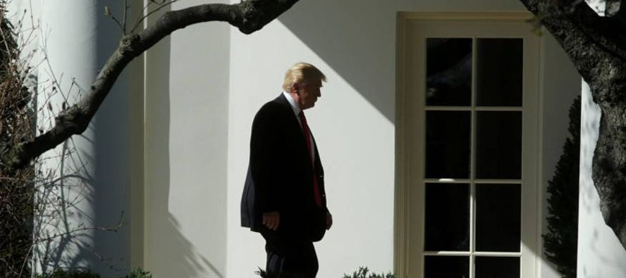 """""""Diría que Trump ha sido el menos presente de los presidentes más..."""