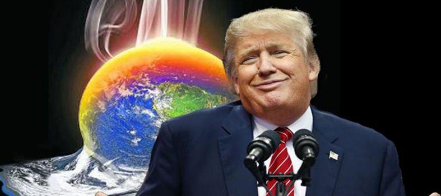 Con su mensaje sobre la ola de frío, Trump revive su particular polémica sobre el...