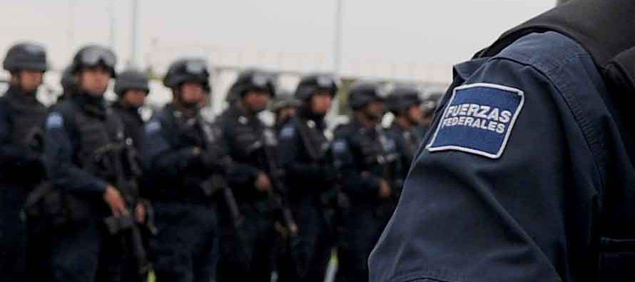 Hasta octubre de este año, en México había un estado de fuerza policial...