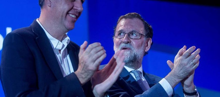 Rajoy compareció ante la prensa para hacer balance del año y explicar sus...