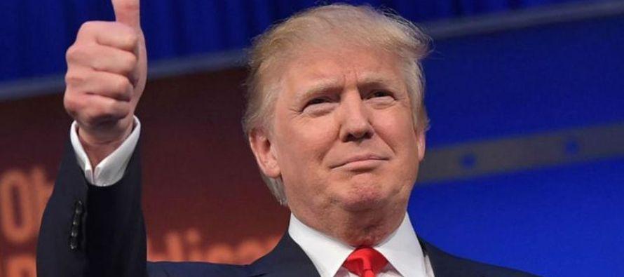 Las cosas han ido, sin embargo, como Trump las había anunciado cuando era candidato. No se...
