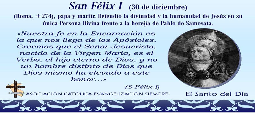 """De acuerdo con la nota en el """"Liber Pontificalis"""", Félix construyó una..."""