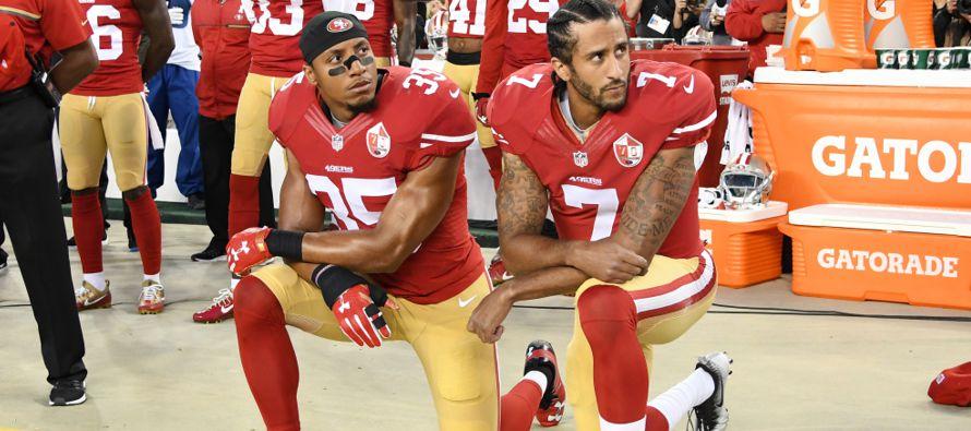 Eric Reid, 'safety' de los 49ers de San Francisco, no teme que los equipos no lo...