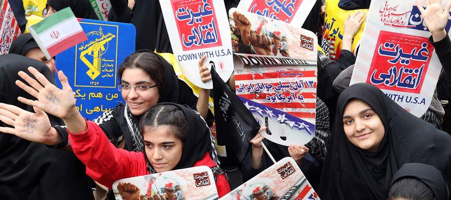 """""""El gobierno iraní debe respetar los derechos de su pueblo, incluido el derecho a..."""